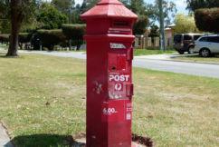 Bassendean post box Heritage listed