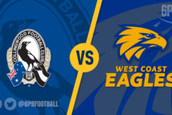 Eagles take to the Magpies at the MCG