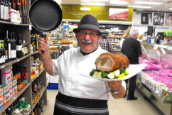 What's Vince Garreffa cooking for Australia day?