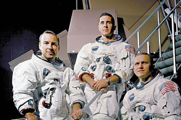 The daring odyssey of Apollo 8