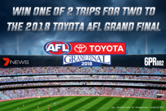 Win tickets to the 2018 Toyota AFL Grand Final!