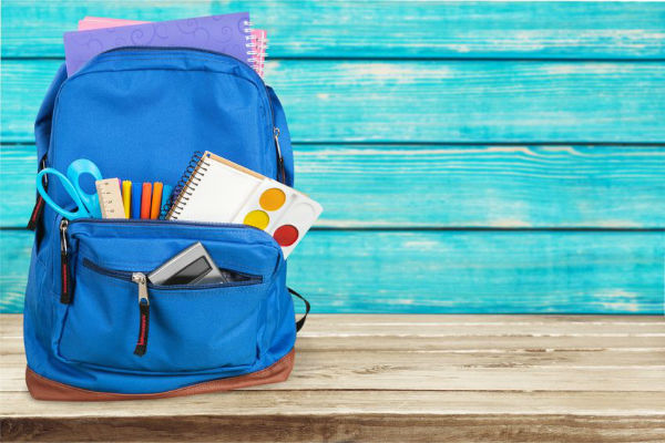Whats in your kids backpack?