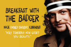 Breakfast with the Honey Badger