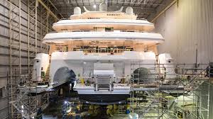 World's biggest aluminium superyacht conceived and birthed in Perth