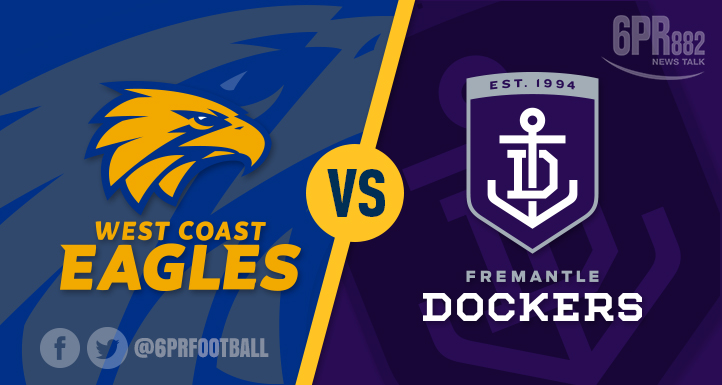 Eagles Thump Dockers In Fiery Derby