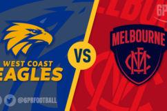 Dee-light! Melbourne upset West Coast