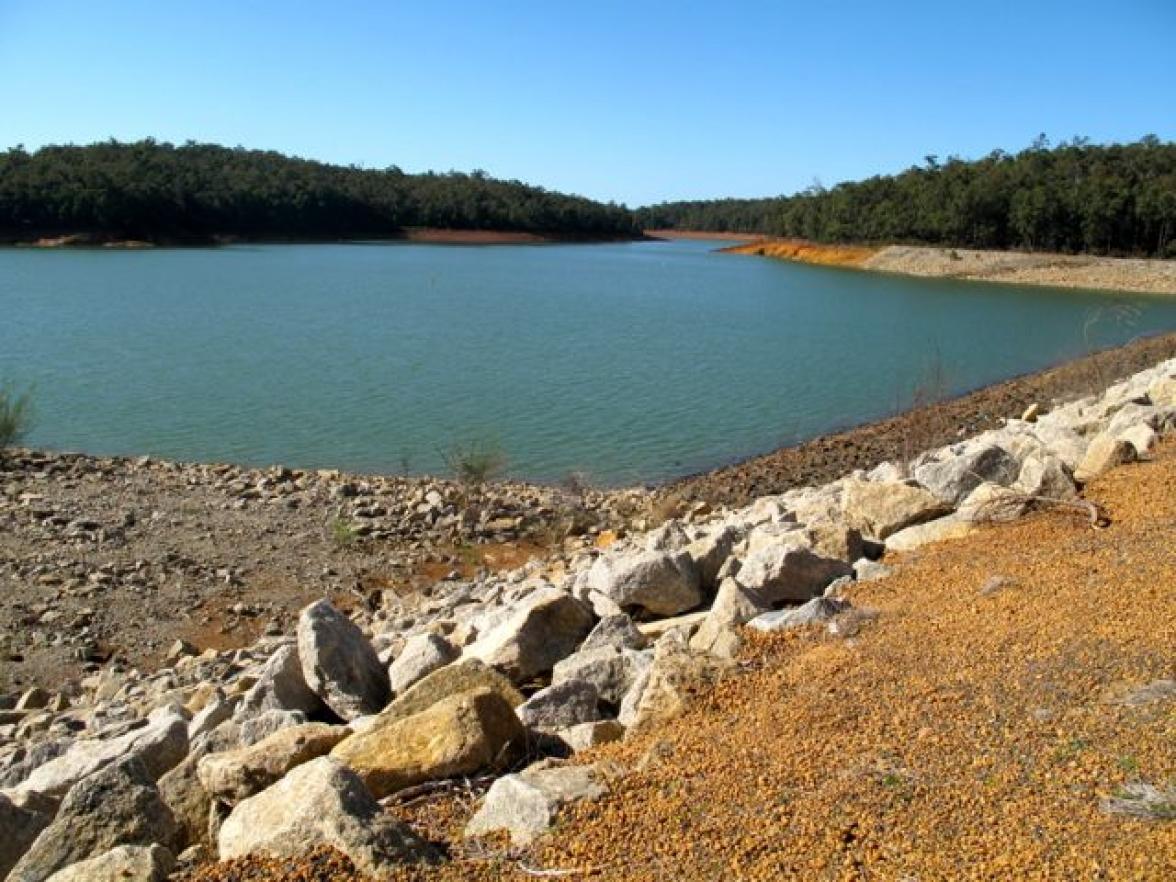 Waroona Dam Overflows