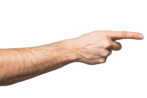 Are we a society of finger pointers?