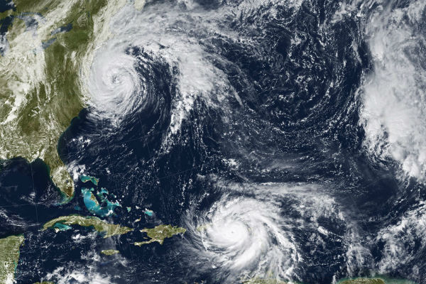 Florence and Maria.. The hurricanes