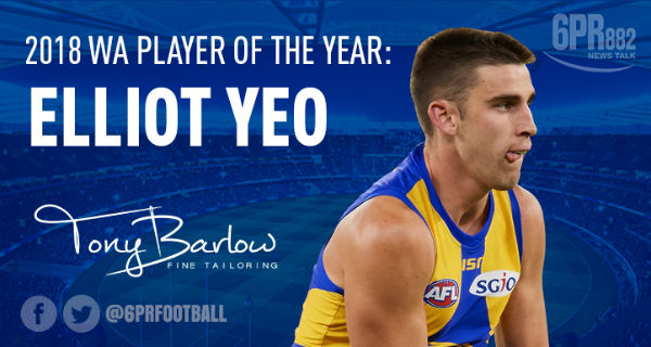 Just another week: Elliot Yeo