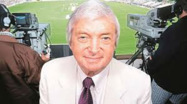 Richie Benaud beige suit tailor recreating the look