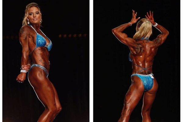 Rebecca Suiter: Perth's local champion body-builder
