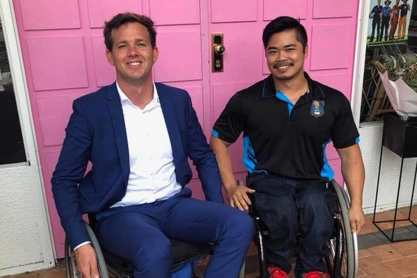 Mandurah Mayor freewheels to better understanding of disability