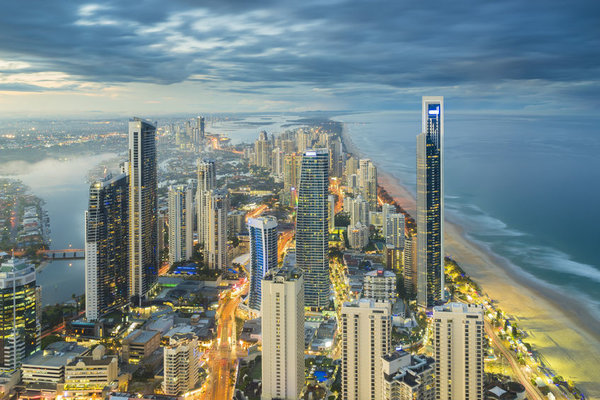 Steve 'Grumpy' Collins extols the virtues of Australia's Gold Coast