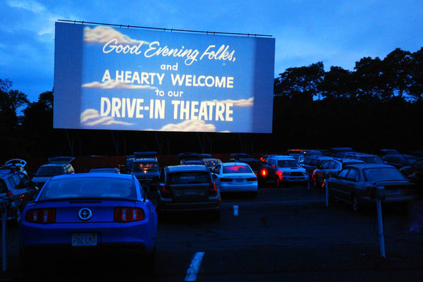 Drive-in for a good cause