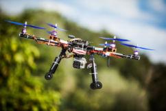 Drone warning around airports