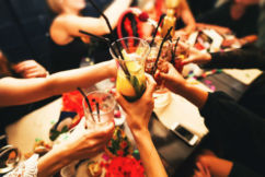 Calls to scrap the need for a meal with alcohol