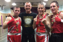 Age doesn't stop new boxing champ