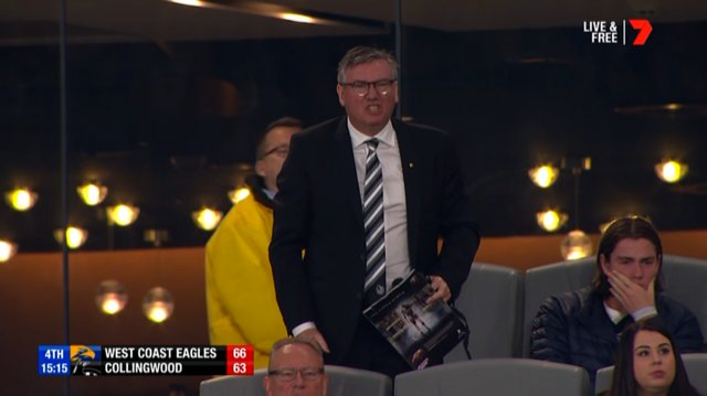 Collingwood President to call Western Derby
