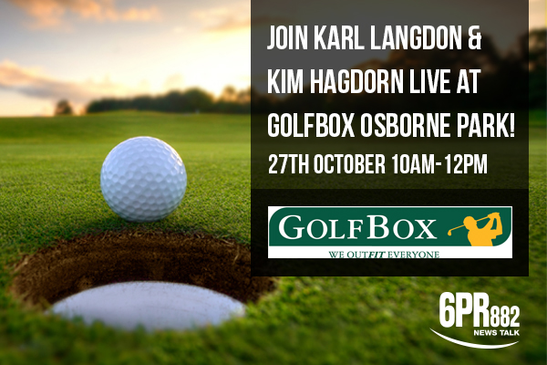 Join Karl & Kim at GolfBox Osborne Park!