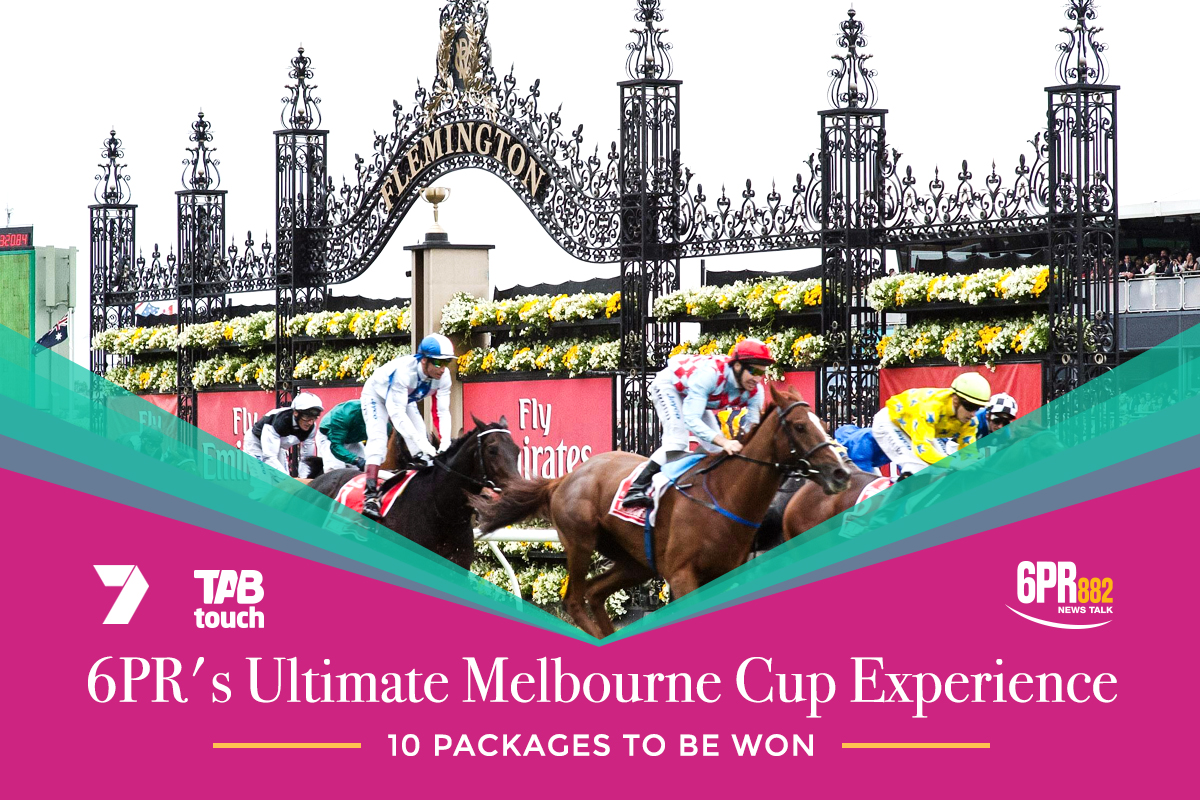 6PR's Ultimate Melbourne Cup Experience Giveaway!