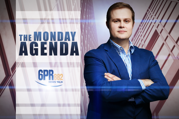 Andrew Hastie Joins The Monday Agenda