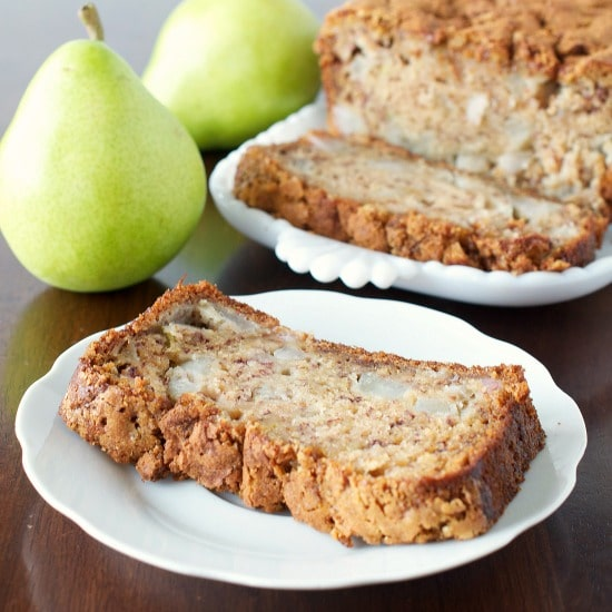 Fresh Finesse – Banana Pear Bread