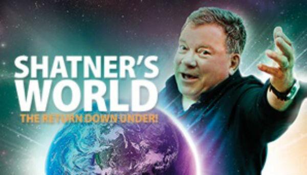 William Shatner down under