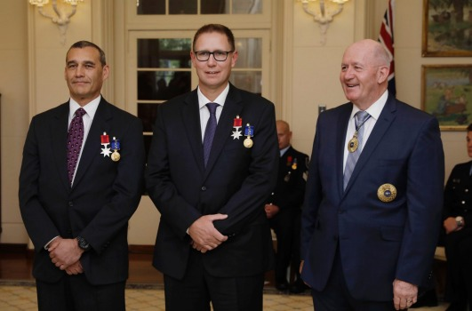 Award nomination for WA's cave rescue hero