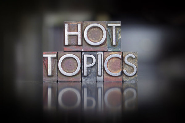 Hot Topics with Karalee Katsambanis and Tiffany Fox