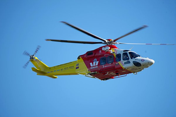 Perth's lifesaving chopper