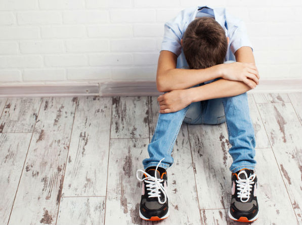 Teen boys struggling with body issues