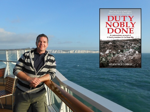 Author Adam Holloway on his book Duty Nobly Done