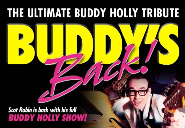 Scot Robins on his international career as Buddy Holly