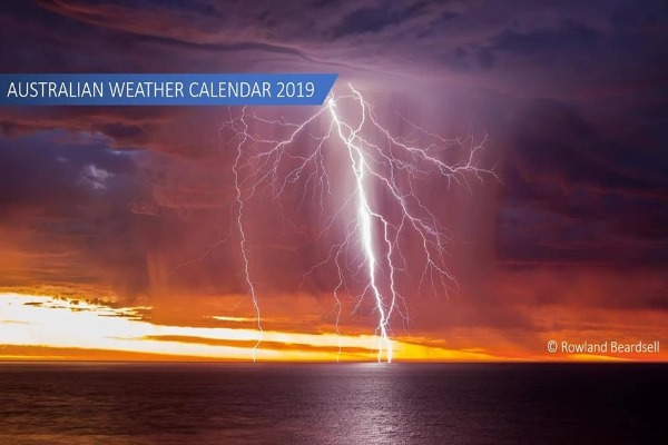 Check out incredible pictures of wild and wonderful weather in the new BOM calendar
