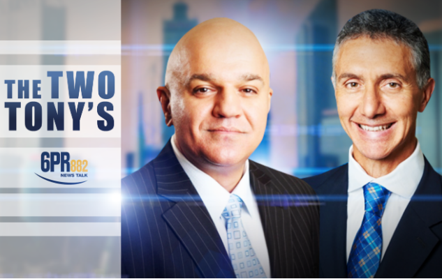The Two Tony's Join The Monday Agenda – Are the Libs Tearing Themselves Apart?