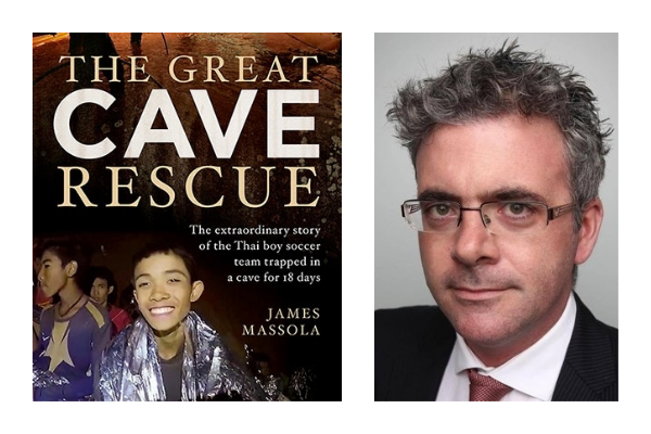 James Massola on his new books The Thai Cave Rescue