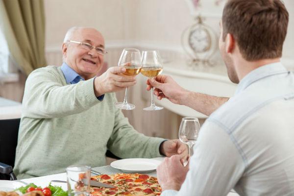 Booze ban at nursing homes