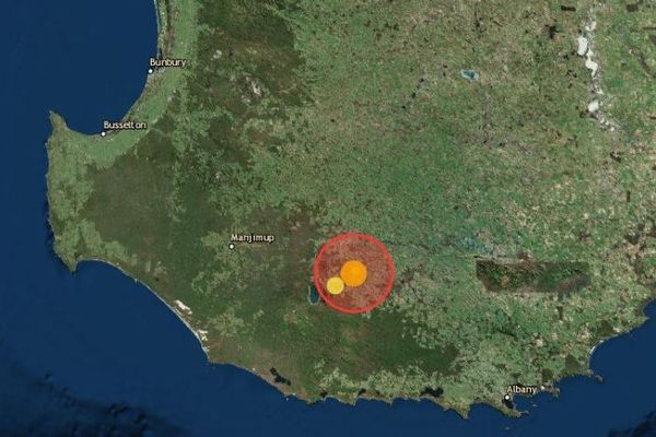 Article image for Earthquake hits Perth on Friday morning