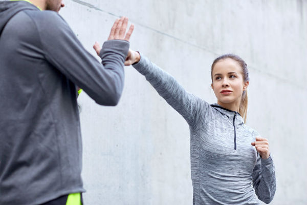 Self defence classes for women