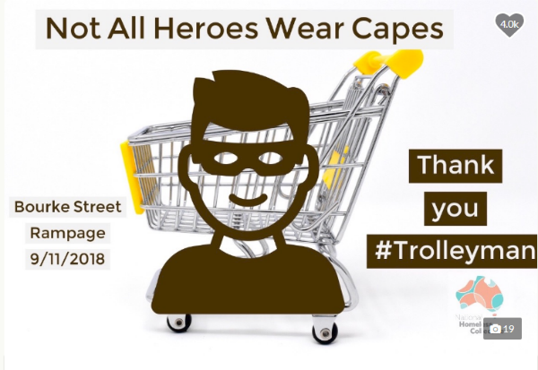 """Crowdfunding goes viral for """"Trolley Man"""""""