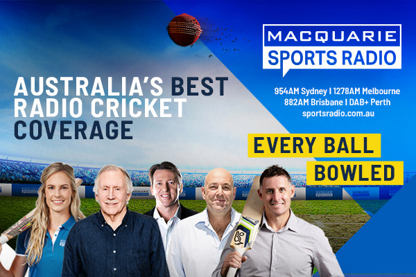 Listen to Australia's best cricket coverage LIVE and FREE