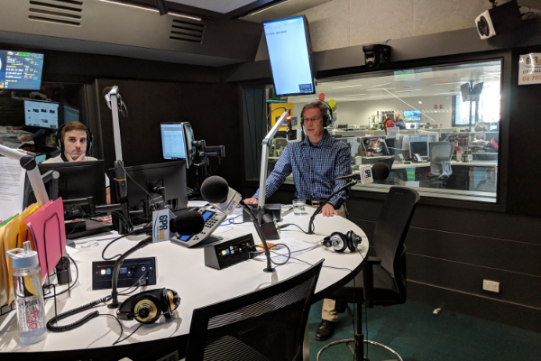 Talkback Democracy: Dr Mike Nahan Live In The Studio