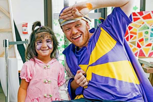 The Christmas party for WA's sickest kids