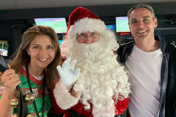 Santa visits 6pr this Christmas Eve