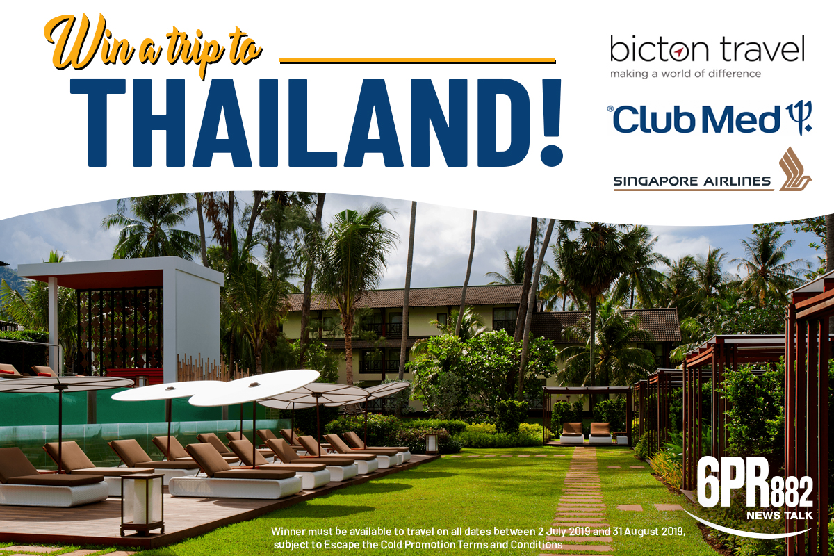 Escape the cold with a trip to Thailand!