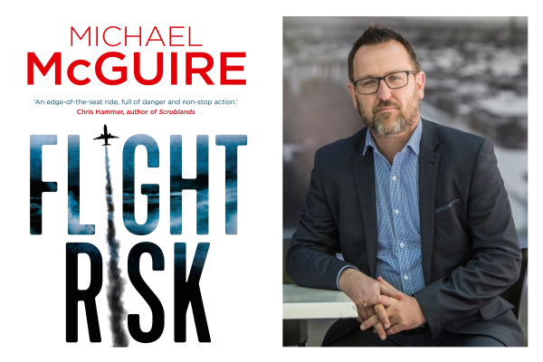 Author Michael McGuire on his new book Flight Risk