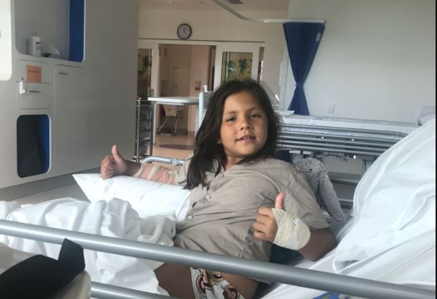 The 7-Year-Old Girl Who Saved her Baby Sister from a Dog Attack