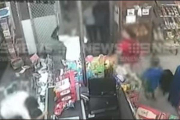 Footage shows supermarket looting before storekeeper detained boy