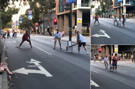 Australia Day Street Cricket in the City